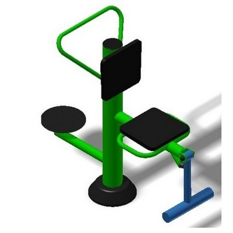 Уличный тренажер взрослый Флекс + Диск для двоих Spektr Sport ТС 232