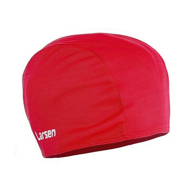 Шапочка плавательная Larsen 3220D красный