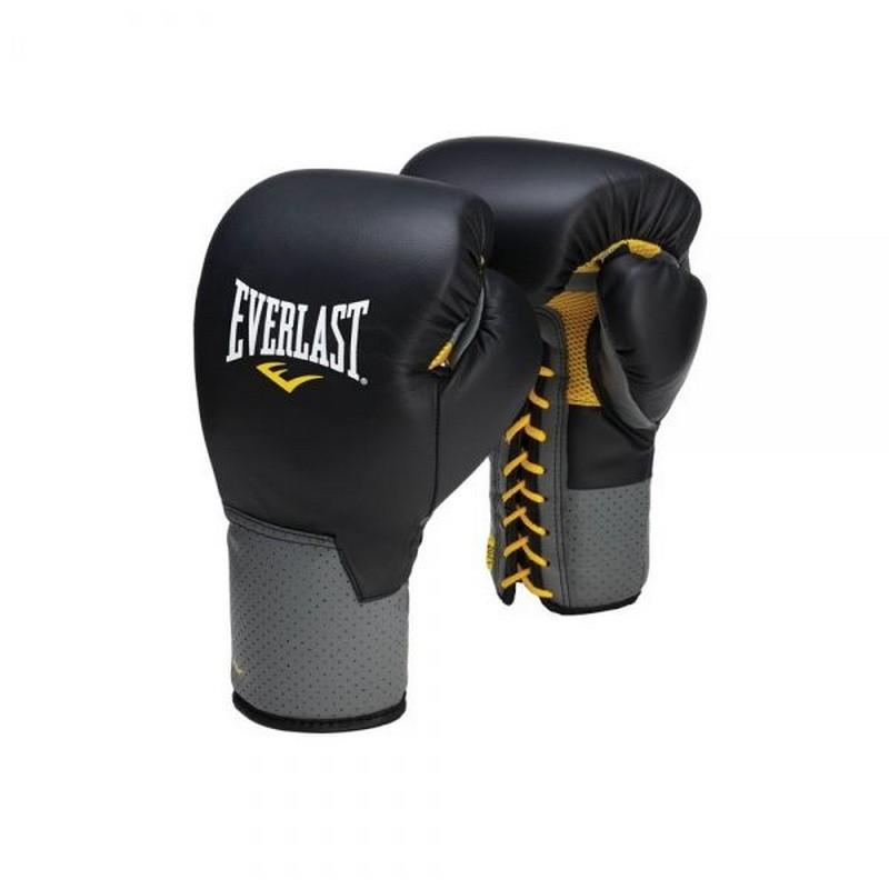 Перчатки тренировочные Everlast Pro Leather Laced 10 oz 591001