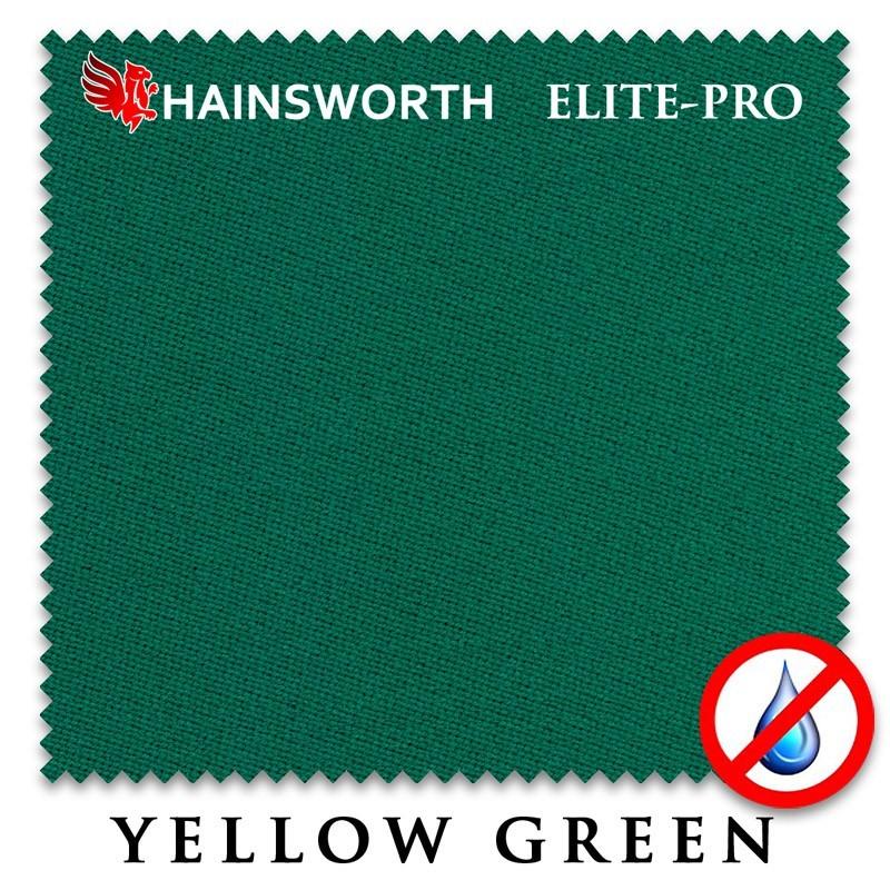 Сукно Hainsworth Elite Pro Waterproof 198см Yellow Green 60M