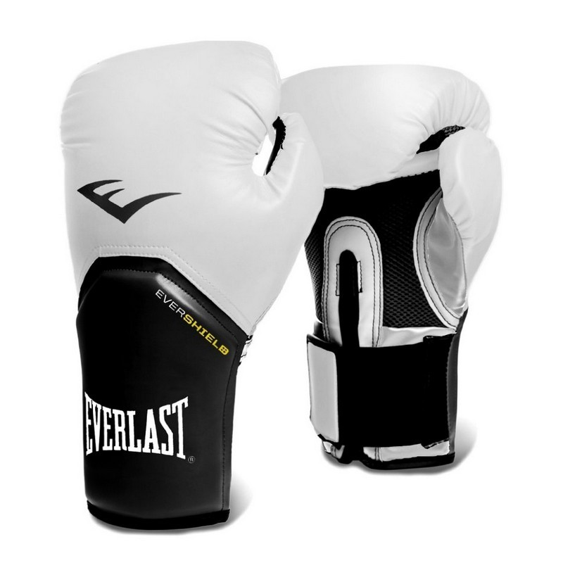 Перчатки тренировочные Everlast Elite ProStyle 10oz P00001197-10 белый