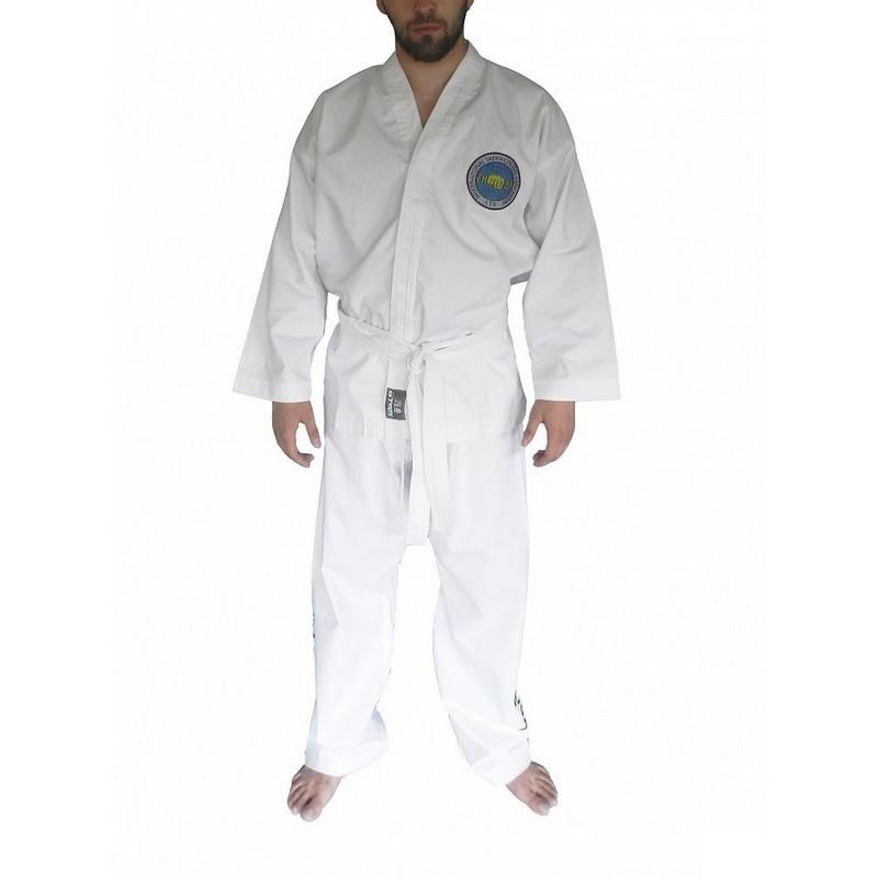 Кимоно для таэквондо ИТФ с шелкографией Atemi плотность 220 гр/м2 AX8