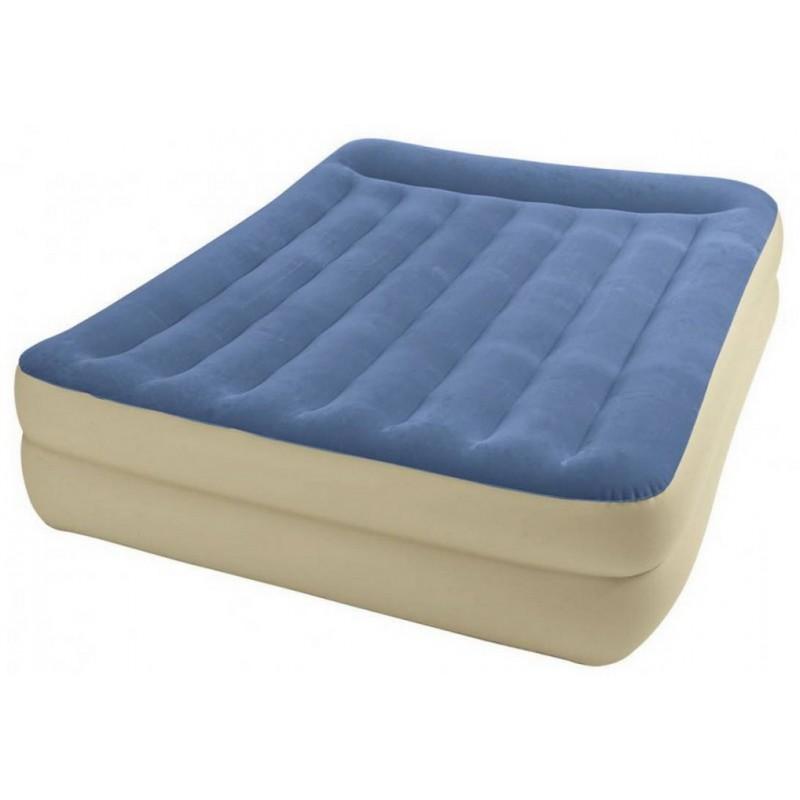 Кровать Intex Pillow Rest 152х203х47см с насосом 220В Intex 67714