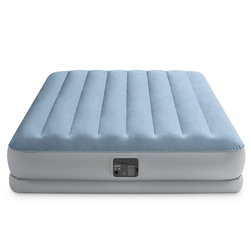 Надувная кровать152х203х36см Intex Raised Comfort с подголовником, встр.нас. 220В, до 272кг 64168