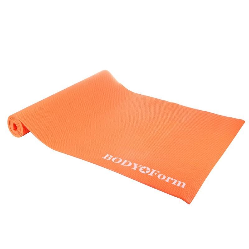 Коврик гимнастический Body Form BF-YM01 173x61x0,4 см оранжевый