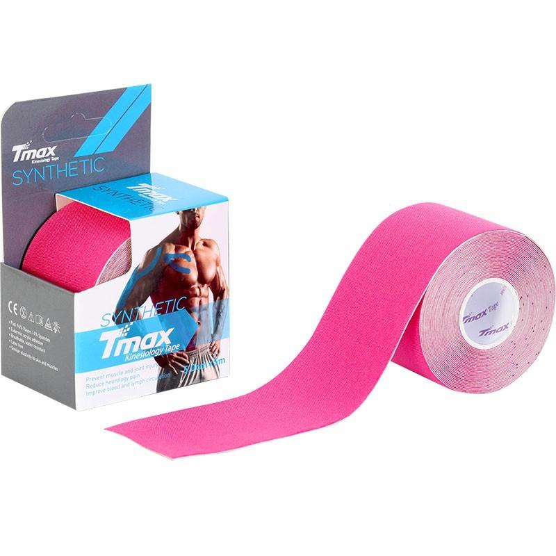 Тейп кинезиологический Tmax Synthetic Pink 5 см x 5 м 423334 розовый